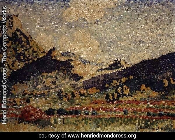Study for the Small Maures Mountains, 1909