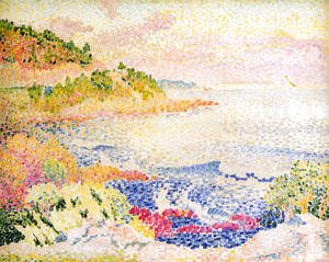 Henri Edmond Cross - The Maures Mountains, 1906-07