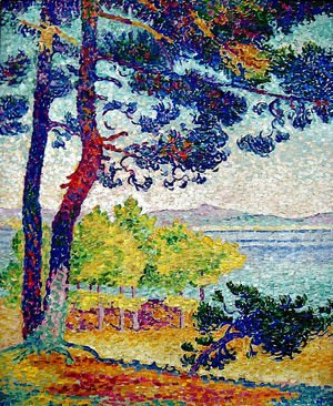 Henri Edmond Cross - Afternoon at Pardigon, Var, 1907