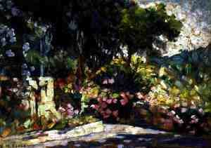The Flowered Terrace, 1905