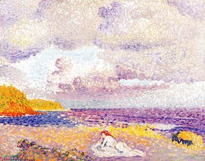 Henri Edmond Cross - An Incoming Storm, 1907-08