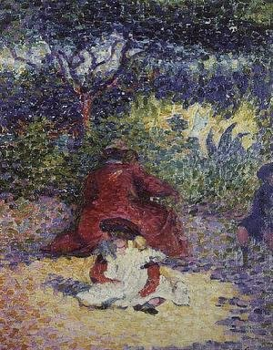 Henri Edmond Cross - In the Garden