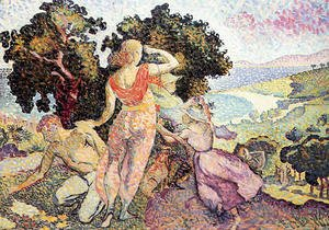Henri Edmond Cross - The Excursionists, 1894