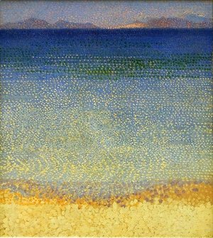 Henri Edmond Cross - The Iles d'Or (The Iles d'Hyeres, Var), c.1891-92