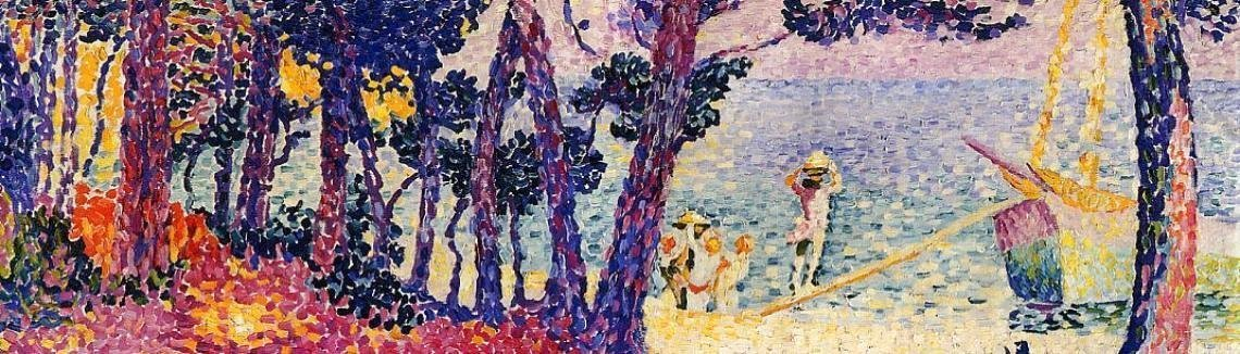 Henri Edmond Cross - A Pine Grove, 1906