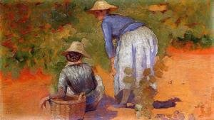 Study for 'The Grape Pickers'