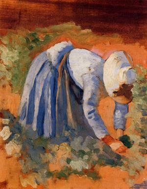 Henri Edmond Cross - Study for 'The Grape Pickers' I