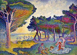 Henri Edmond Cross - By the Mediterranean