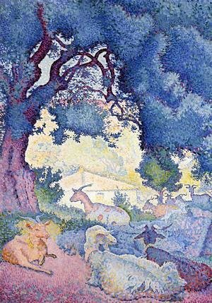 Henri Edmond Cross - Goats