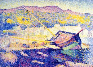 Henri Edmond Cross - The Blue Boat