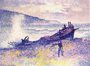 Henri Edmond Cross - The Wreck