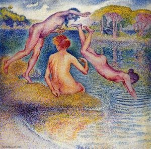 Henri Edmond Cross - Bathers I