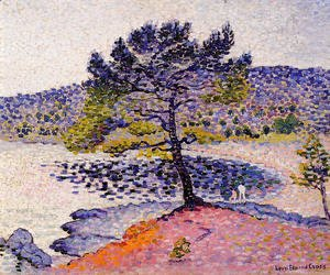 Henri Edmond Cross - The Beach, Evening