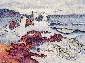 Henri Edmond Cross - The Mediterranean, East Wind
