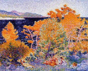 Henri Edmond Cross - Siesta by the Water