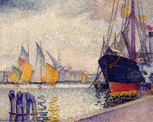 Henri Edmond Cross - Canal de la Guidecca, Venice