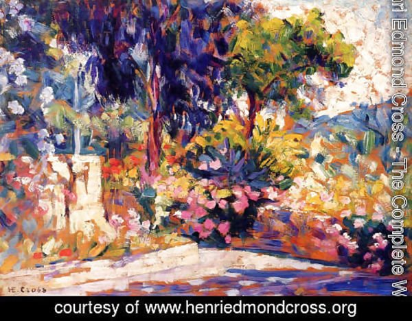 Henri Edmond Cross - The Flowered Trees