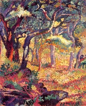 Henri Edmond Cross - Study for 'The Clearing""