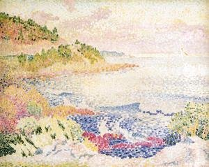 Henri Edmond Cross - Coast of Provence, Le Four des Maures