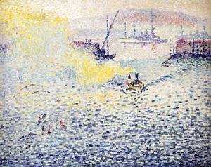 Henri Edmond Cross - Toulon, Winter Morning