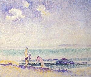 Henri Edmond Cross - Bathers III
