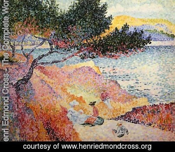 Henri Edmond Cross - The Bay at Cavaliere