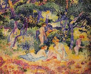 Henri Edmond Cross - The Woods