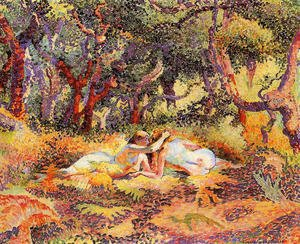 Henri Edmond Cross - The Forest