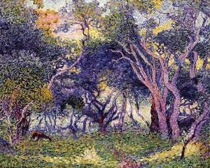 Henri Edmond Cross - In the Woods