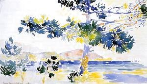 Henri Edmond Cross - Saint-Clair Landscape