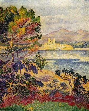 Henri Edmond Cross - Antibes, Morning