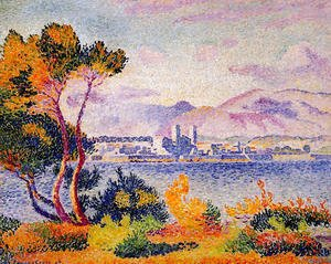 Henri Edmond Cross - Antibes, Afternoon