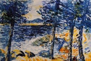 Henri Edmond Cross - Pines by the Sea