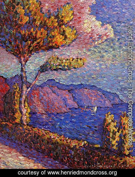 Henri Edmond Cross - The Canal near St. Tropez