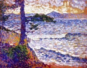 Henri Edmond Cross - The Mediterranean Coast