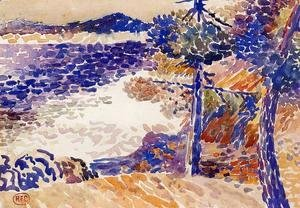 Henri Edmond Cross - Pines by the Sea I