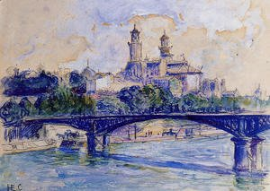 Henri Edmond Cross - The Seine by the Trocadero