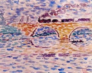 Henri Edmond Cross - The Viaduct