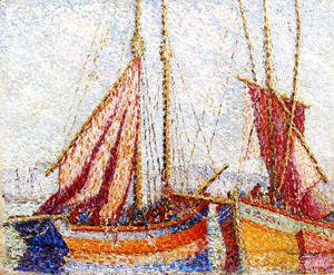 Henri Edmond Cross - Sailboats