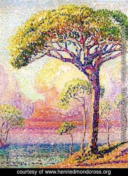 Henri Edmond Cross - A Pine Tree