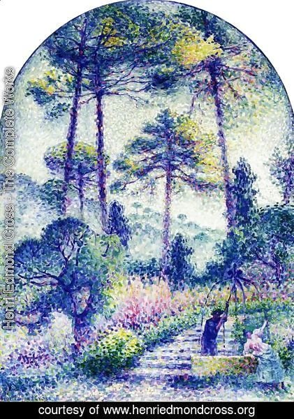 Henri Edmond Cross - Garden in Provence