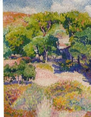 Henri Edmond Cross - Cypresses
