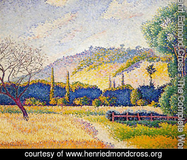 Henri Edmond Cross - Landscape 2