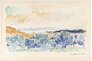 Henri Edmond Cross - Base de St. Clan