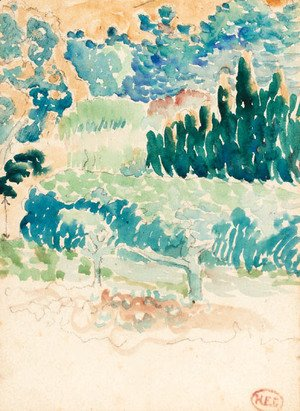 Henri Edmond Cross - Le jardin
