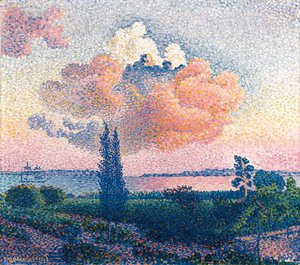 Henri Edmond Cross - Le nuage rose