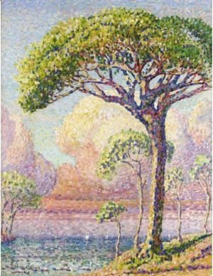 Henri Edmond Cross - Un Pin