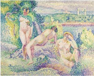 Henri Edmond Cross - Nymphes