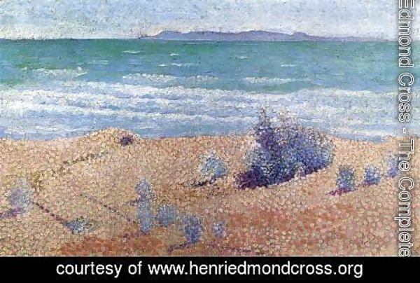 Henri Edmond Cross - Beach on the Mediterranean