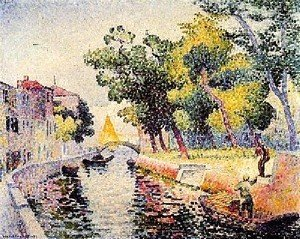 Henri Edmond Cross - River At San Trovaso